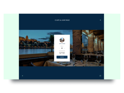 Daily UI Challenge #54 Confirm Reservation