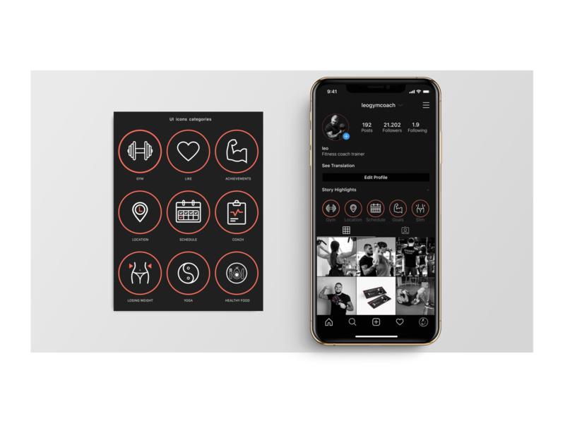 Daily UI Challenge #55 Icon Set navigation identity speedyg0nzalesart social media socialmedia social user experience ui design dailyui set ikon ikons instagram iphone mobile