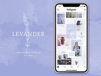 Instagram Puzzle Lavender