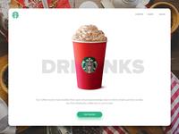 Starbucks Redesign - Drinks