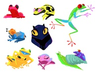 FROGS FROGS FROGS