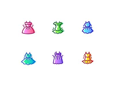 Free icons dress