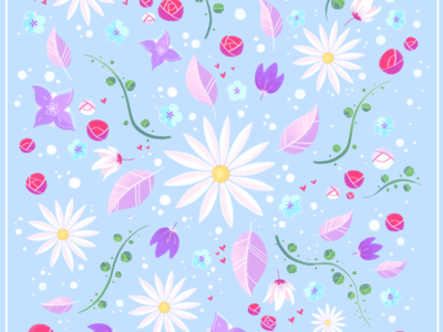 Spring pattern ♥