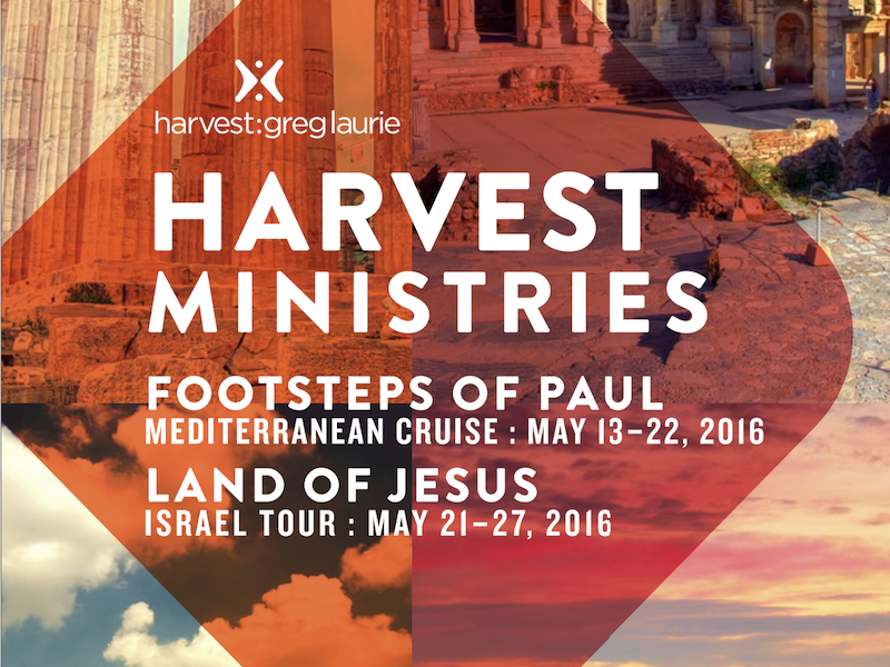 Harvest Ministries Brochure Cover travel harvest brochure