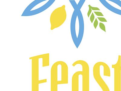 Feastlogo logo branding festival