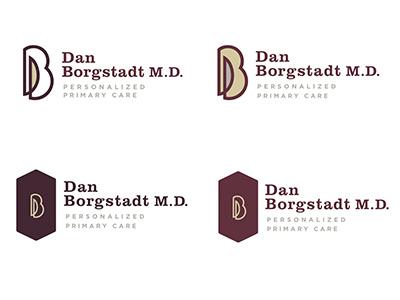 Dan Borgstadt Logo - Concept identity logo branding doctor
