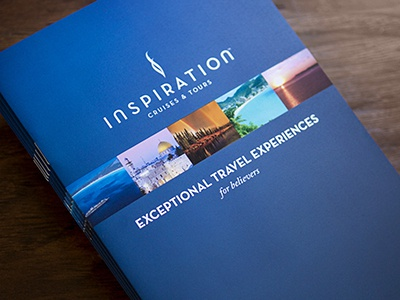 Itineraries Booklet promotion sales booklet