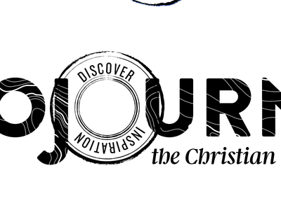 Sojourner Masthead 1-color masthead logo travel