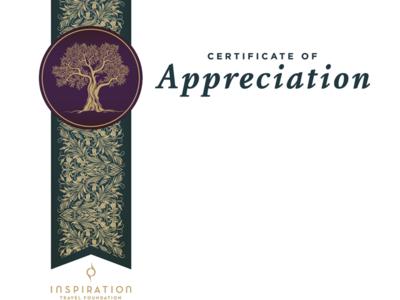 Israel Trees Certificate