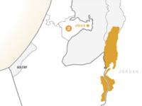 Israel Map israel map duotone