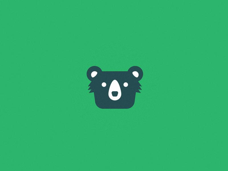 Brother Bear Lawn Care lawn care grass lawn mower brand logo design logo illustration business card brand identity lawn bear branding