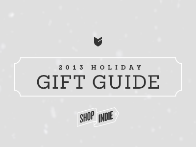 Gift Guide bigcartel shopindie gifts presents holiday christmas snow