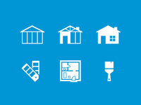 Residential Construction Icons