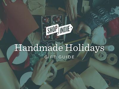 Handmade Holidays Gift Guide bigcartel shopindie gifts presents holiday christmas illustration