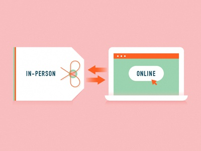 Retail buy sale online tag illustration