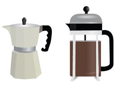 Brewing 2  illustration coffee gradient vector