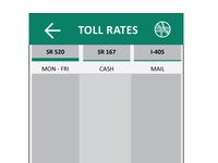 Toll Rates Page