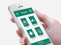 Transport App UI
