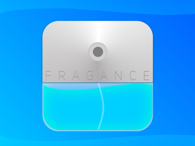 """Daily UI #005 App Icon for """"Fragance"""""""