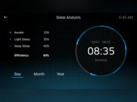 Sleep Analysis UI