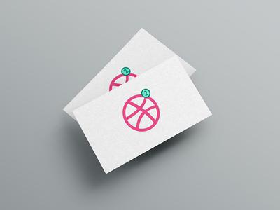 2 Dribbble Invites illustration paper card icon invites invitation invite dribbble