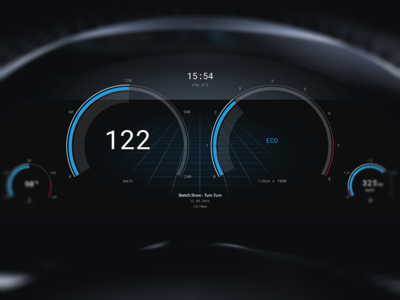 car ui by andreas frank dribbble. Black Bedroom Furniture Sets. Home Design Ideas