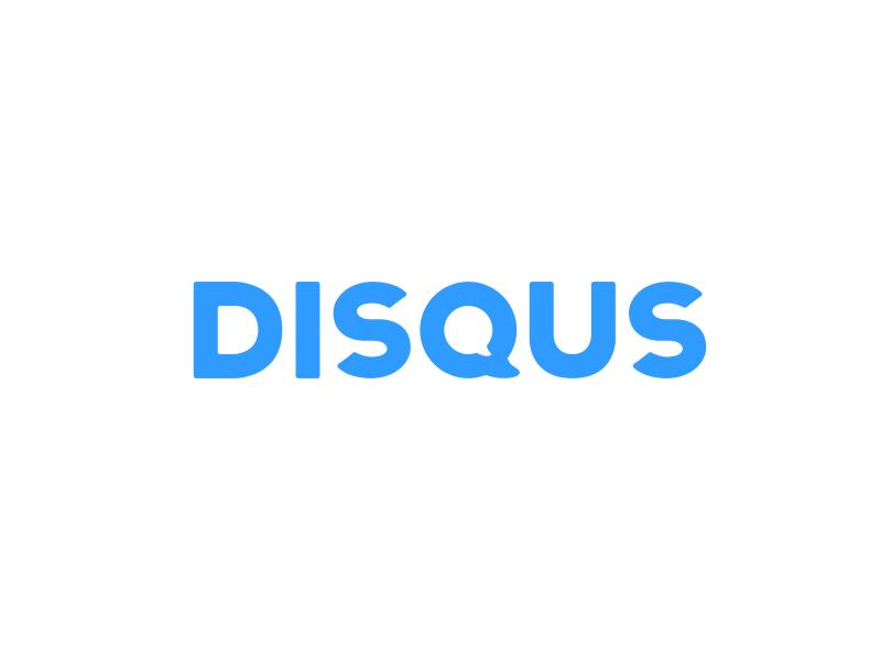 Take on Disqus Logo hand made test illustrator inspired type custom disqus logo photoshop practice identity q sans serif brand
