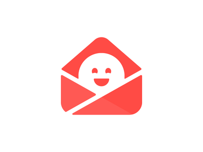 Really Good Emails Logo email logo good smile illustration exploration wip
