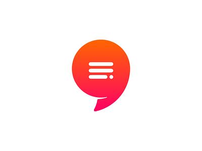 Quote Logo apostrophe logo quote testimonials simple brand