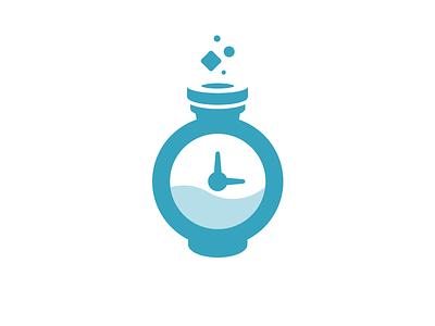Mana Logo logo invoice project magic potion time web brand mana logomark
