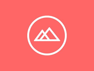 """A Sneak """"Peak"""" peak preview soon logo rough emblem monogram nature"""