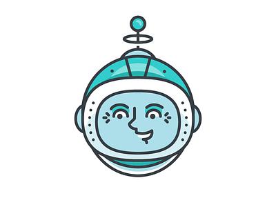 Emma of The Pixel Explorer League wip pixel explorer league adventure smile illustration space canvas vector woman badge
