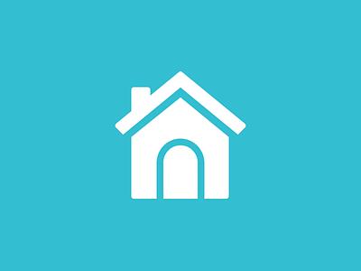 Home Logo home logo house pad logomark mark rent friend