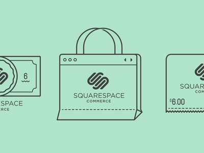 Squarespace Commerce Icons