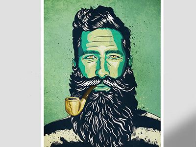 Jimmy Niggles jimmy niggles mr elbank portrait juan arias thisisbeard.com bodymoving.net beard