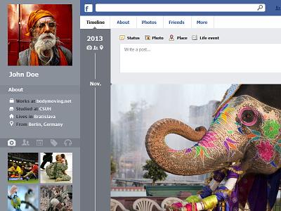 Facebook's Timeline Redesign facebook redesign juan arias ui ux