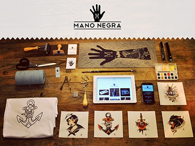 Mano Negra design apparel art branding bodymoving.net arias juan manonegra.nl