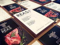 Reas Butchers Branding
