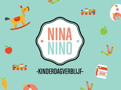Nina Nino Logo nina nino daycare design branding corporate identity bodymoving.net juan arias
