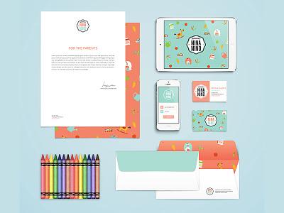 Nina Nino nina nino daycare design branding corporate identity bodymoving.net juan arias
