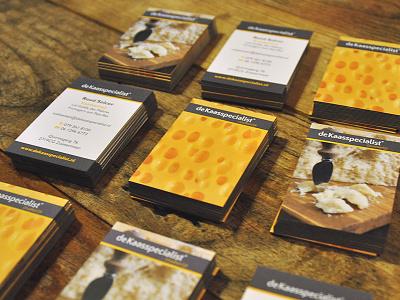 De Kaasspecialist Business cards de kaasspecialist bodymoving.net design branding juan arias cheesee