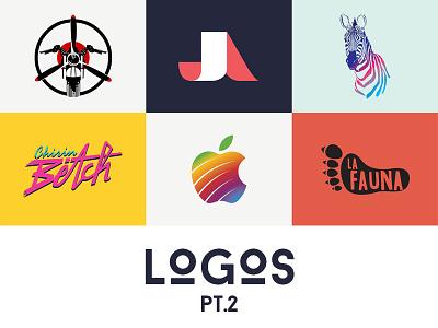 Logos Pt.2 bodymoving.net juan arias branding logo design