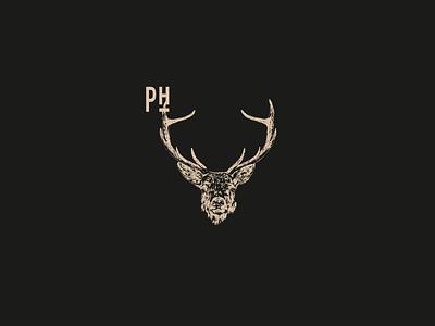 Platzhirsch Branding logo branding design illustration