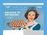 One Page Pie Shop Site