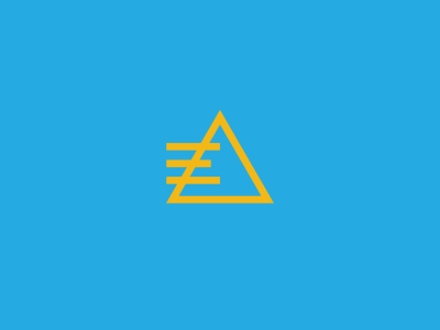 Workspace Interiors Logomark products interiors workspace workplace e pyramid icon mark logo brand identity