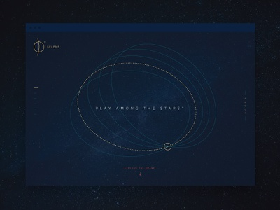 Branding the Moon stars identity web space icon logo brand moon eclipse