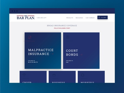 Insurance Product Website legal service professional gradient interior product lawyer insurance