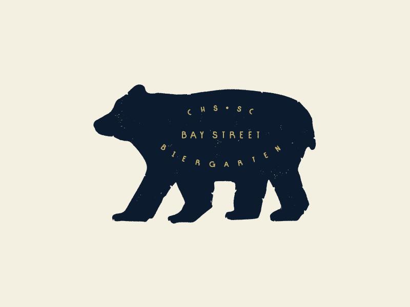 Bierocious Bier Bear bear logo identity typography
