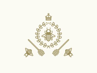 Honey Harvest honey bees harvest crowns wreaths honey dippers