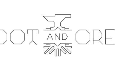 ...oot and ore geometry logo black white